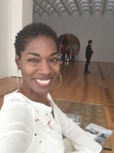 Me at the museum. Loved it! Can't you tell?